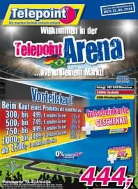 Telepoint Willkommen in der Telepoint Arena Juni 2014 KW23 1