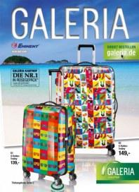 Galeria Kaufhof Reisegepäck Juni 2014 KW24
