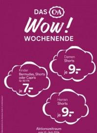 C&A Das WOW! Wochenende Juni 2014 KW24 1
