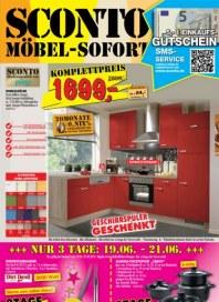 Sconto Möbel-Sofort Juni 2014 KW25