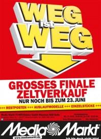 MediaMarkt Weg ist weg Juni 2014 KW25