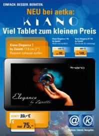 Prospekte Viel Tablet zum kleinen Preis Juni 2014 KW26