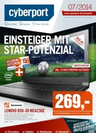 Cyberport Einsteiger mit Star-Potenzial Juli 2014 KW27