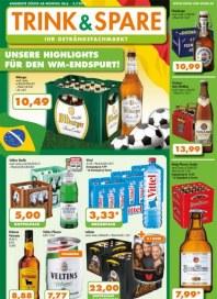 Trink und Spare Unsere Highlights für den WM-Endspurt Juni 2014 KW27