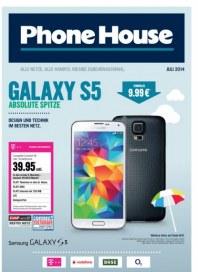 Phone House Alle Netze, alle Handys, riesige Zubehörauswahl Juli 2014 KW27