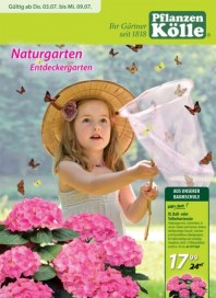 Pflanzen Kölle Naturgarten - Entdeckergarten Juli 2014 KW27