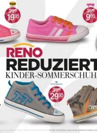 Reno Reno reduziert Kinder-Sommerschuhe Juli 2014 KW27