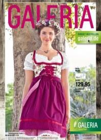 Galeria Kaufhof Trachtenmode Juli 2014 KW29