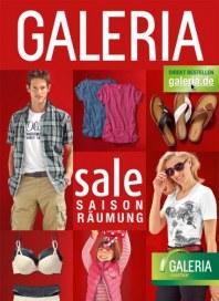 Galeria Kaufhof Saison Räumung Mode Juli 2014 KW29