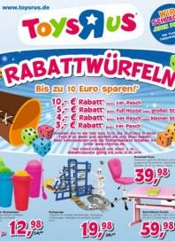 Toys'R'us Rabattwürfeln Juli 2014 KW29