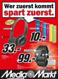 MediaMarkt Wer zuerst kommt, spart zuerst Juli 2014 KW29