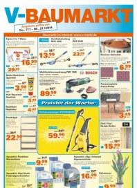 V-Baumarkt Aktuelle Angebote Juli 2014 KW30