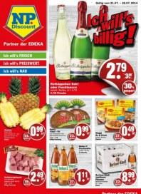 NP-Discount Aktueller Wochenflyer Juli 2014 KW30