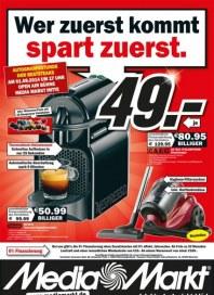 MediaMarkt Wer zuerst kommt, spart zuerst Juli 2014 KW30 2