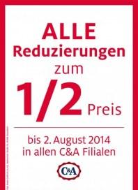 C&A Rabattaktion Juli 2014 KW30 1