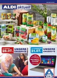 Aldi Nord Aldi Aktuell - Angebote ab Montag, 28.07 Juli 2014 KW31