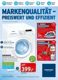 KARSTADT Elektro - Markenqualität - Preiswert und Effizient Juli 2014 KW31