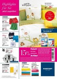 KARSTADT Living - Highlights für Sie - Jetzt zugreifen Juli 2014 KW31