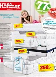 Höffner Märchenhaft günstige Preise Juli 2014 KW31 4