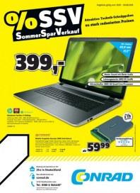 Conrad Sommer Spar Verkauf Juli 2014 KW31