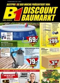 B1 Discount Baumarkt Aktuelle Angebote August 2014 KW31