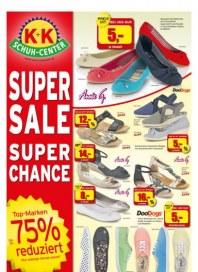 K+K Schuh-Center Super Sale, super Chance August 2014 KW31