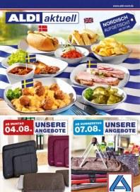 Aldi Nord Aldi Aktuell - Angebote ab Montag, 04.08 August 2014 KW32