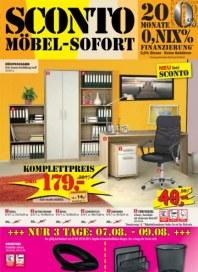 Sconto Möbel sofort Juli 2014 KW31