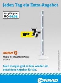 Conrad Jeden Tag ein Extra-Angebot August 2014 KW32