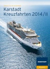 KARSTADT Karstadt Kreuzfahrten 2014/Ii August 2014 KW32