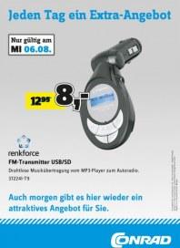 Conrad Jeden Tag ein Extra-Angebot August 2014 KW32 2