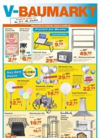 V-Baumarkt Aktuelle Angebote August 2014 KW32