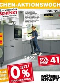 Möbel Kraft Küchen-Aktionswochen August 2014 KW33