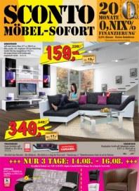 Sconto Möbel-Sofort August 2014 KW33