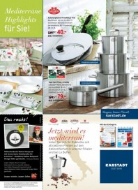 KARSTADT Living - Mediterrane Highlights für Sie August 2014 KW33