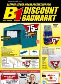 B1 Discount Baumarkt Aktuelle Angebote August 2014 KW33 1