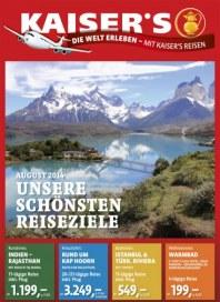Kaiser's Unsere schönsten Reiseziele August 2014 KW33