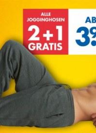 Zeeman Alle Jogginghosen - 2+1 gratis August 2014 KW33