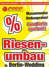POCO Massenweise Umbaupreise! Ganz Berlin spart mit August 2014 KW33