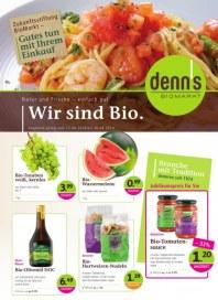 Denn's Biomarkt Aktuelle Angebote August 2014 KW33