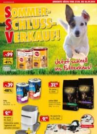 Das Futterhaus Sommer-Schluss-Verkauf August 2014 KW35