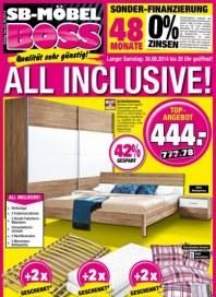 SB Möbel Boss Aktuelle Angebote August 2014 KW35 1