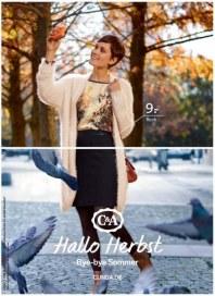 C&A Hallo Herbst. - Bye bye Sommer August 2014 KW35