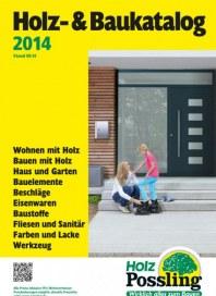 Holz Possling Holz-&Baukatalog August 2014 KW35