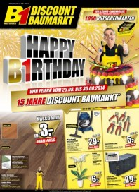 B1 Discount Baumarkt Aktuelle Angebote August 2014 KW35 3
