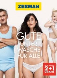 Zeeman Gute Unterwäsche für alle August 2014 KW35