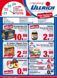 Ullrich Verbrauchermarkt Knüller September 2014 KW36