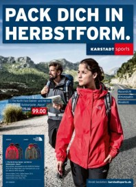 KARSTADT Karstadt sports - Pack dich in Herbstform September 2014 KW36