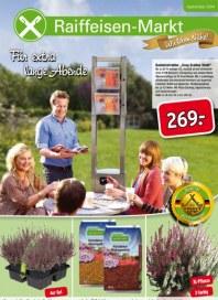 Raiffeisen-Markt Für extra lange Abende! Gescher September 2014 KW36