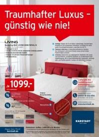 KARSTADT Matratzen & Bettwaren - Traumhafter Luxus - günstig wie nie September 2014 KW36